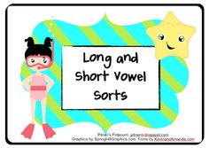 Long and Short Vowel Sort - Freebie - Winner Announced!