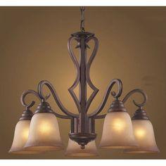 Elk Lighting Lawrenceville 5 Light Chandelier  $290