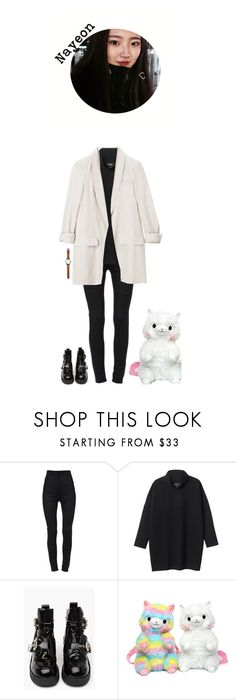"""""""{ Pre-Debut } Nayeon   Walk around Gagnam with Sumin"""" by official-dewdrops ❤ liked on Polyvore featuring Dolce&Gabbana, Monki, Gucci and Jack Spade"""