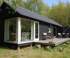 Længehuset, a Modular Holiday House by Møn Huset