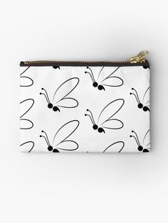 'semi colon project' Zipper Pouch by EvyStickersx Semi Colon, Project S, Makeup Bags, Iphone Wallet, Cotton Tote Bags, Gifts For Family, Zipper Pouch, Chiffon Tops, Zip Around Wallet