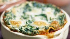 Butternut squash & bacon lasagne