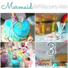 Mermaid Birthday Party Ideas Games Little Parties Imagination Tree Third