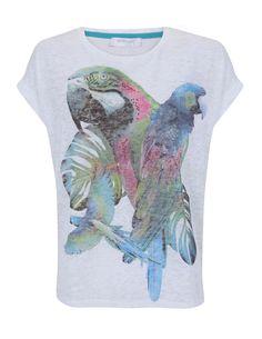 Parrot Print T-Shirt