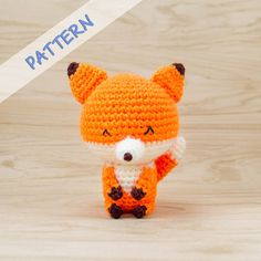 Kito the Fox Amigurumi Crochet Pattern