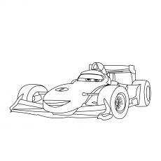 The Colouring Francesco With Images Coloring Pages Cars Coloring Pages Cartoon Coloring Pages