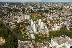 Vista aérea de Manaus. Visite o BrasilGuias