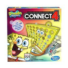 "SpongeBob SquarePants Connect 4 Game - Hasbro - Toys ""R"" Us"