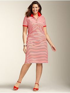 19f15d6fdf0 Pique Polo Stripe Dress  Seriously  It should be a crime to sell this dress