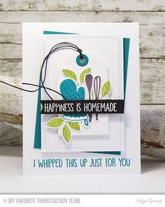 Kitschy Kitchen Stamp Set and Die-namics, Bold Blooms Stamp Set and Die-namics, You Bake Me Happy Stamp Set, Stitched Sentiment Strips Die-namics, Inside & Out Diagonal Stitched Rectangle STAX Die-namics, Tag Builder Blueprints 2 Die-namics - Inge Groot  #mftstamps