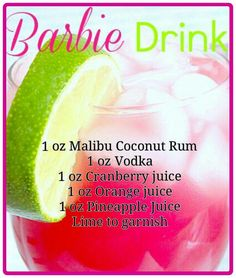 Barbie Drink!