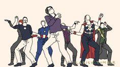 Gaga Avengers Dance