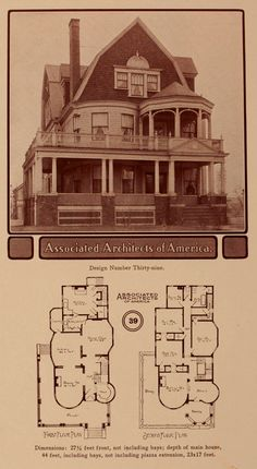 Artistic Modern Homes, 1902.  Associated Architects of America. From the Collection of the Winterthur Museum Library