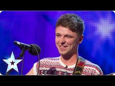 ▶ Jordan O'Keefe sings One Direction's 'Little Things' - Week 2 Auditions | Britain's Got Talent 2013. This is lovely!(: <3