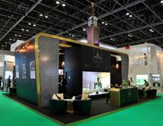Custom made exhibition stand for ATM.  #exhibitionstands #exhibitiondisplays #standbuilders