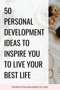 50 personal development ideas to inspire your best life - Need some personal development inspiration? Here are fifty ideas for self improvement, habits, and - Life Coaching Tools, Habits Of Successful People, Learn A New Language, Self Improvement Tips, Self Development, Personal Development Plan Ideas, Positive Mindset, Life Advice, Best Self