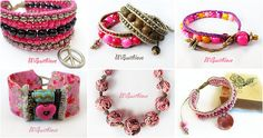 Pink jewelry for your happy days!