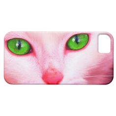 Pink Cat iPhone 5 Case- so cute!