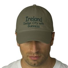 Ireland Dodge City with Guinness Embroidered Hat