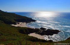 Playa Area Grande en Lires, Cee #galicia