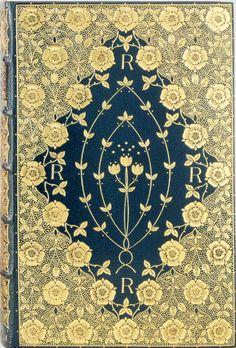 Dante Gabriel Rossetti, Poems. London: F. S. Ellis, 1870 Binding: Cobden-Sanderson
