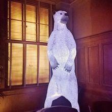 God's Dog; North American Polar Bear Polar Bear, Mosaic, American, Outdoor Decor, Dogs, Mosaics, Pet Dogs, Doggies, Mosaic Art