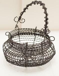 handmade egg basket