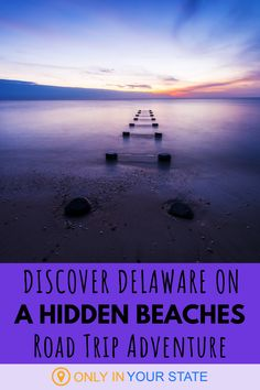 We've got some big beach towns in Delaware but we've also got some lesser-known hidden gems worth checking out. Discover them on the best summer road trip! Road Trip Adventure, Hidden Beach, Beach Town, Haunted Places, Summer Travel, Delaware, Travel Usa, State Parks, Places To Visit