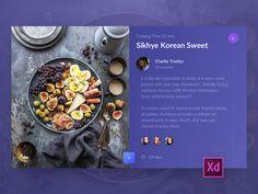 Cooking App Desktop Version Screen by Sergey Pikin #Design Popular #Dribbble #shots