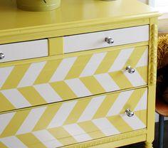 before & after: children's dresser refresh   Design*Sponge