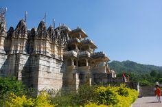 Jain Temple in Ranakpur, India. 1458 AD