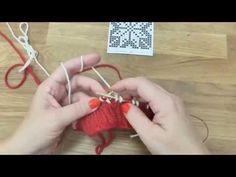 Pletení čepice s norským vzorem 2. díl, Norwegian knitting hat - YouTube