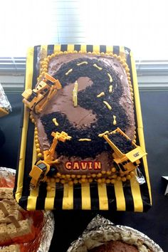 Gav + Ro: Mr. G\'s Construction Birthday Party