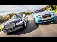▶ 2014 Bentley Flying Spur vs. 2014 Rolls-Royce Ghost! - Head 2 Head Ep. 47 - YouTube