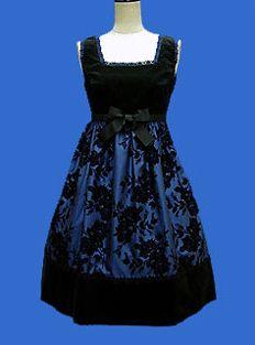 Moi-même-Moitié / Jumper Skirt / Rose Flocky JSK #nofitme