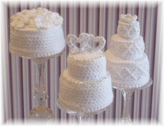 Etsy Find Crochet Mini Wedding Cakes Posted in Uncategorized