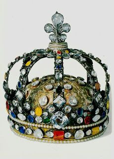 The crowns of France throughout the ages, HERE
