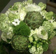 Artichoke Bridal Bouquet
