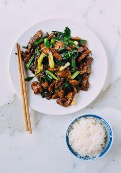 Scallion Beef Stir-fry, by thewoksoflife.com