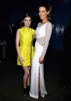 #AnnaKendrick and #KateBeckinsale attend 'The Night That Changed America: A Grammy Salute To The Beatles' at the #LosAngelesConventionCenter on January 27, 2014. See more Celebs Spotted at Los Angeles Convention Center! http://celebhotspots.com/hotspot/?hotspotid=5241&next=1