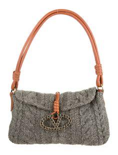 Valentino Knit Catch Bag