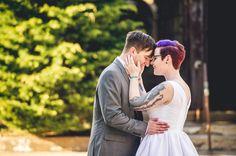 Eastern State Penn Wedding  Keywords: eastern state (2), philadelphia (51), philly (2), prison (2), tattooed bride (28).