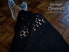 Crochê, estilo e elegância numa linda trama de linhas!!! Bjos coloridos e brilhantes
