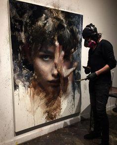 Figure Painting, Oil Painting On Canvas, Art Oil Paintings, Painting Art, Realistic Oil Painting, Painting Tips, Figurative Kunst, Peace Art, Portrait Art