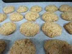 Homemade Coconut Cookies Recipe- Sugar Free, Gluten Free, Egg Free