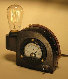 Steam Punk Edison Table Lamp Table Lamps