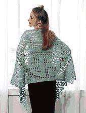 BEST FRIENDS SHAWL free crochet pattern