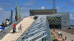 Maritime Center Vellamo, Kotka, Finland | Merikeskus Vellamo Marina Bay Sands, Contemporary Design, Building, Fashion, Finland, Moda, La Mode, Buildings, Fasion