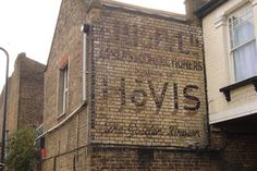 Writing is on the wall: Britain's 'ghost signs' provide faded ...