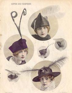 Chapeau early 1900's.
